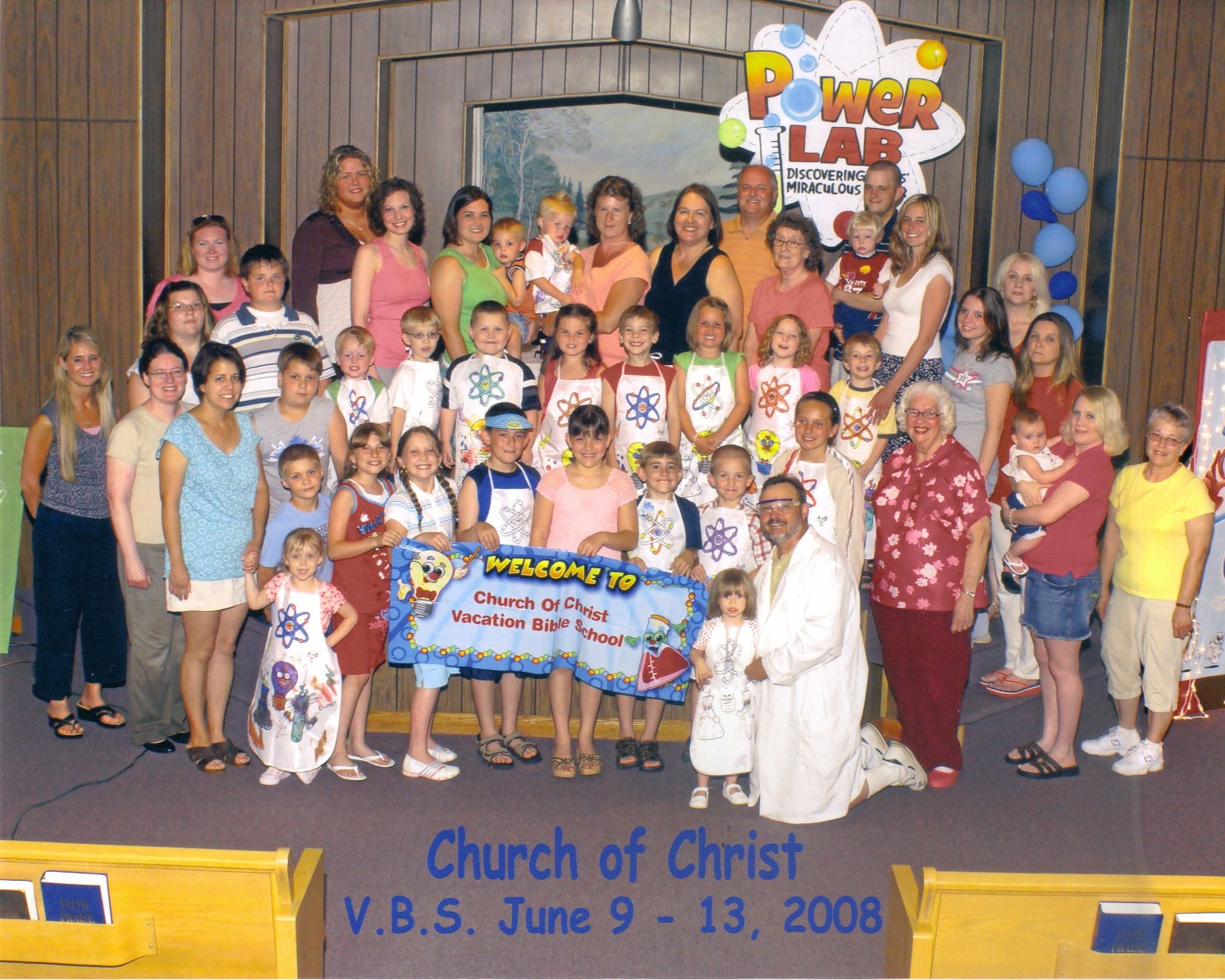 Connellsville church of christ vbs 2008 for Vacation bible school crafts for adults